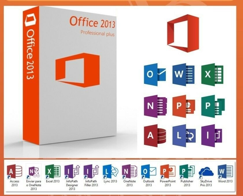 microsoft office 2013 professional plus 1 pc lizenz key. Black Bedroom Furniture Sets. Home Design Ideas