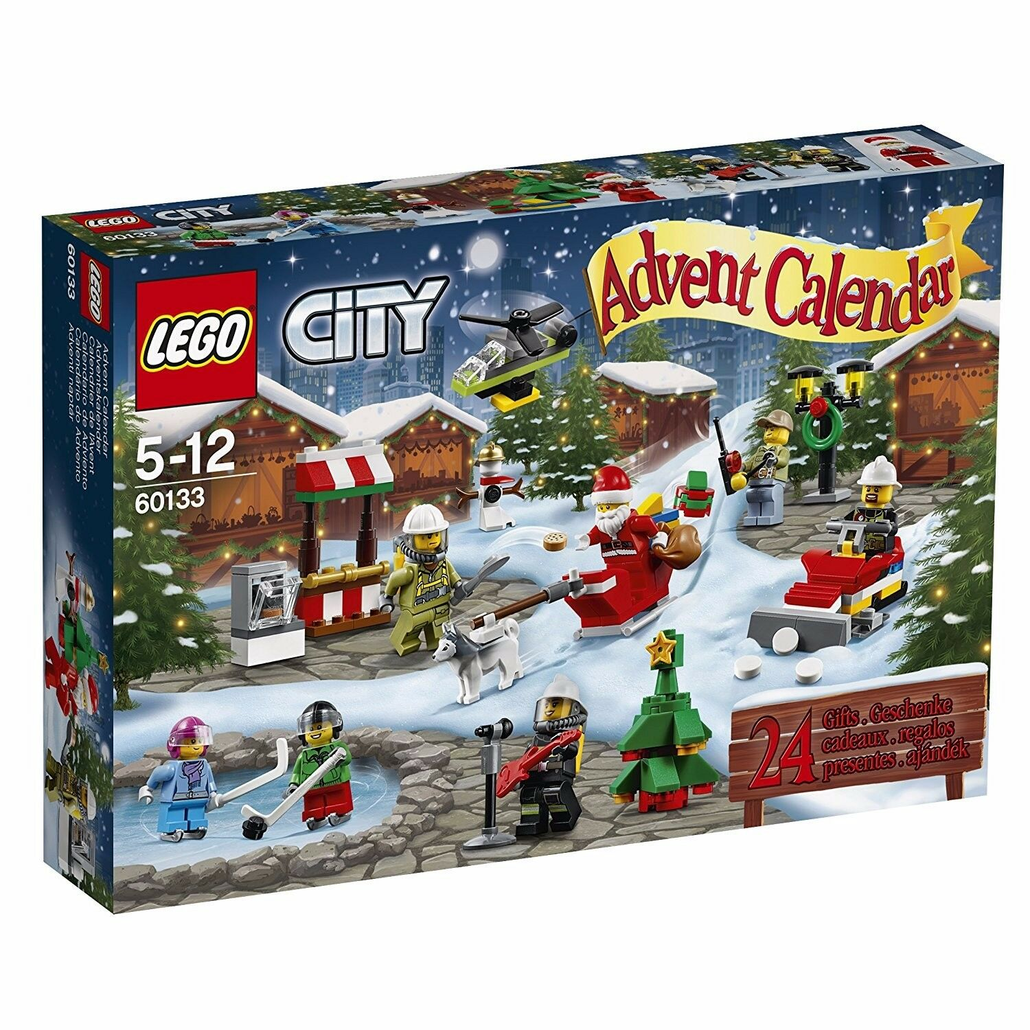 lego city adventskalender feuerwehr 2016 advent calendar. Black Bedroom Furniture Sets. Home Design Ideas