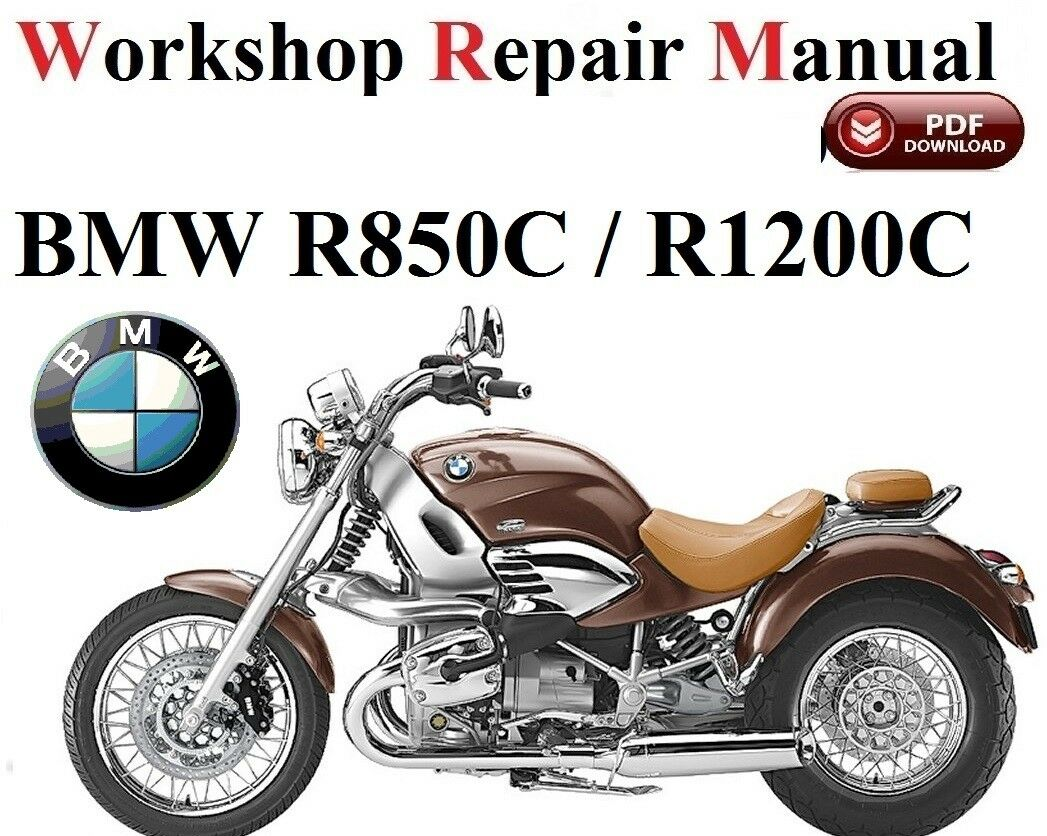 BMW R850C /R1200C 1999- 2004 year Repair Manual PDF Version 1 of 1FREE  Shipping See More