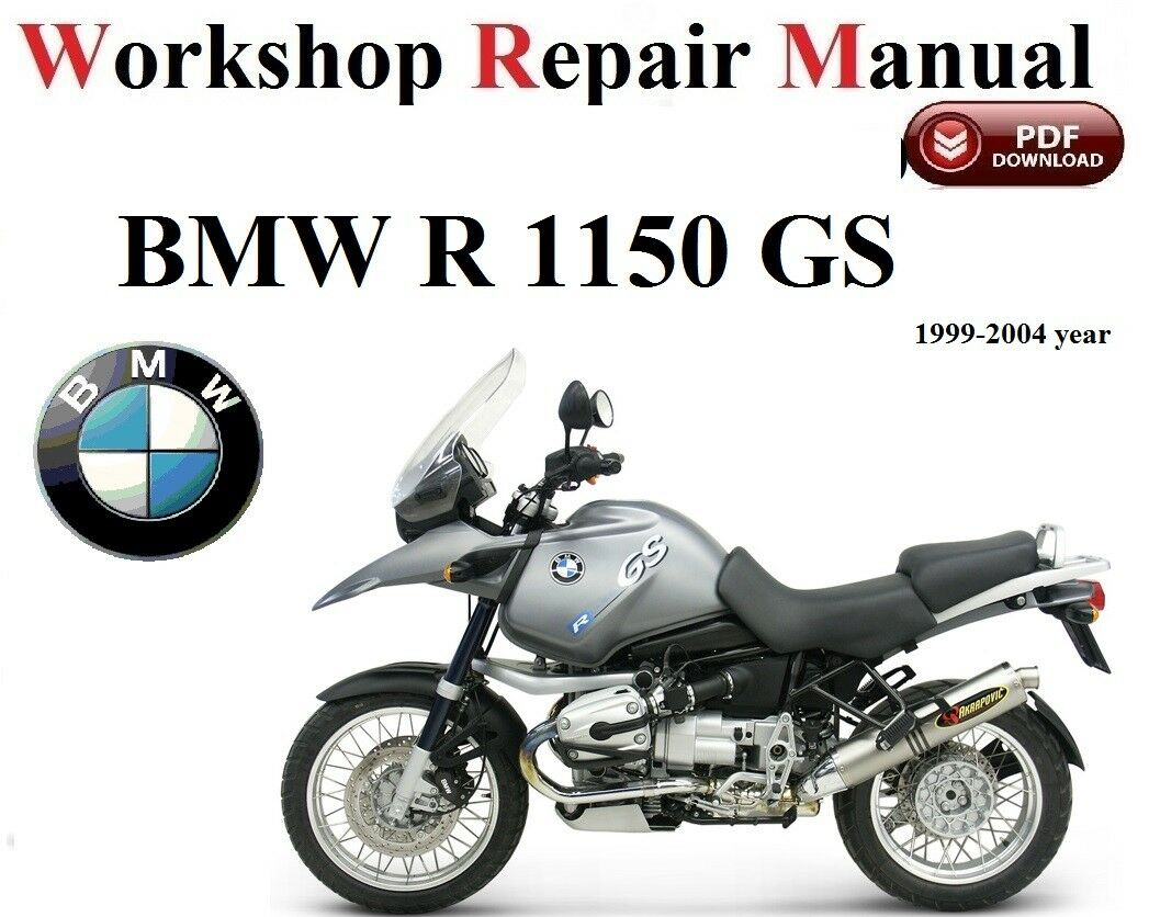 BMW R1150 GS 1999- 2004 year Repair Manual PDF Version 1 of 1FREE Shipping  See More