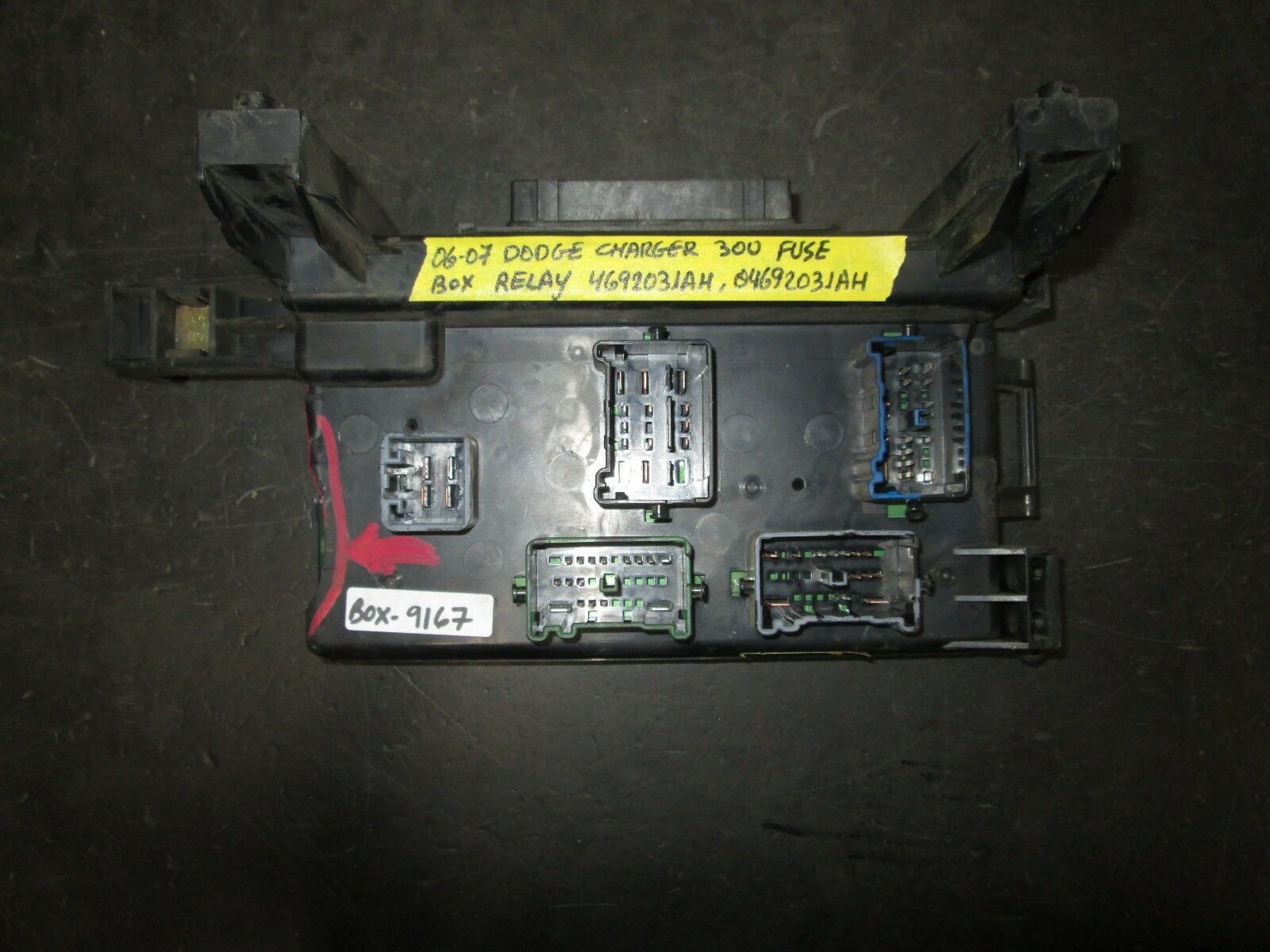 06 07 DODGE CHARGER 300 FUSE BOX RELAY #4692031AH,04692031AH *See item* 1  of 5Only 1 available See More