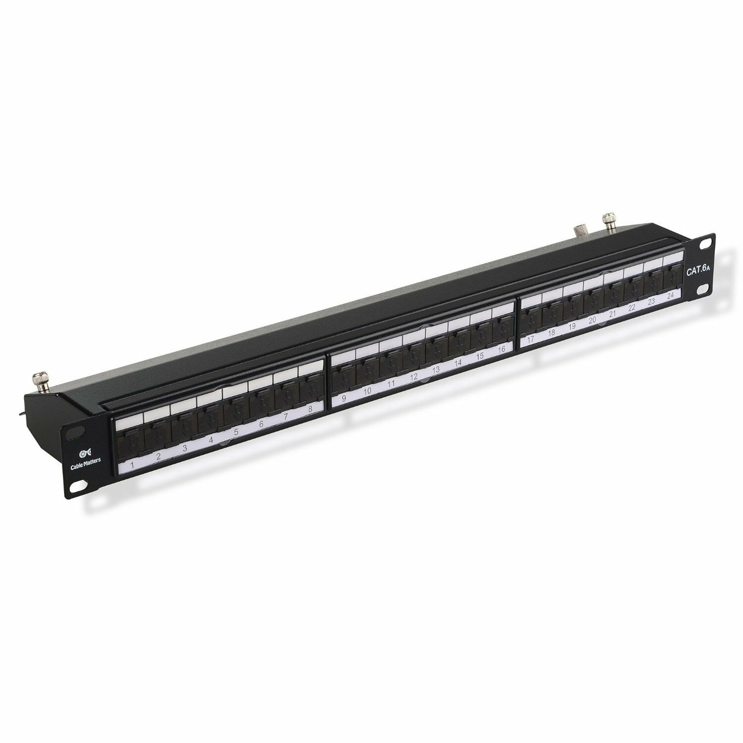 Cable Matters Cat6a Shielded 110 Type Patch Panel 24 Port 8999 Rj45 Wiring 1 Of See More