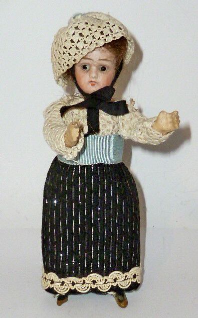 alte porzellankopfpuppe puppe f r puppenstube puppen france doll 17cm p ppchen eur 189 99. Black Bedroom Furniture Sets. Home Design Ideas