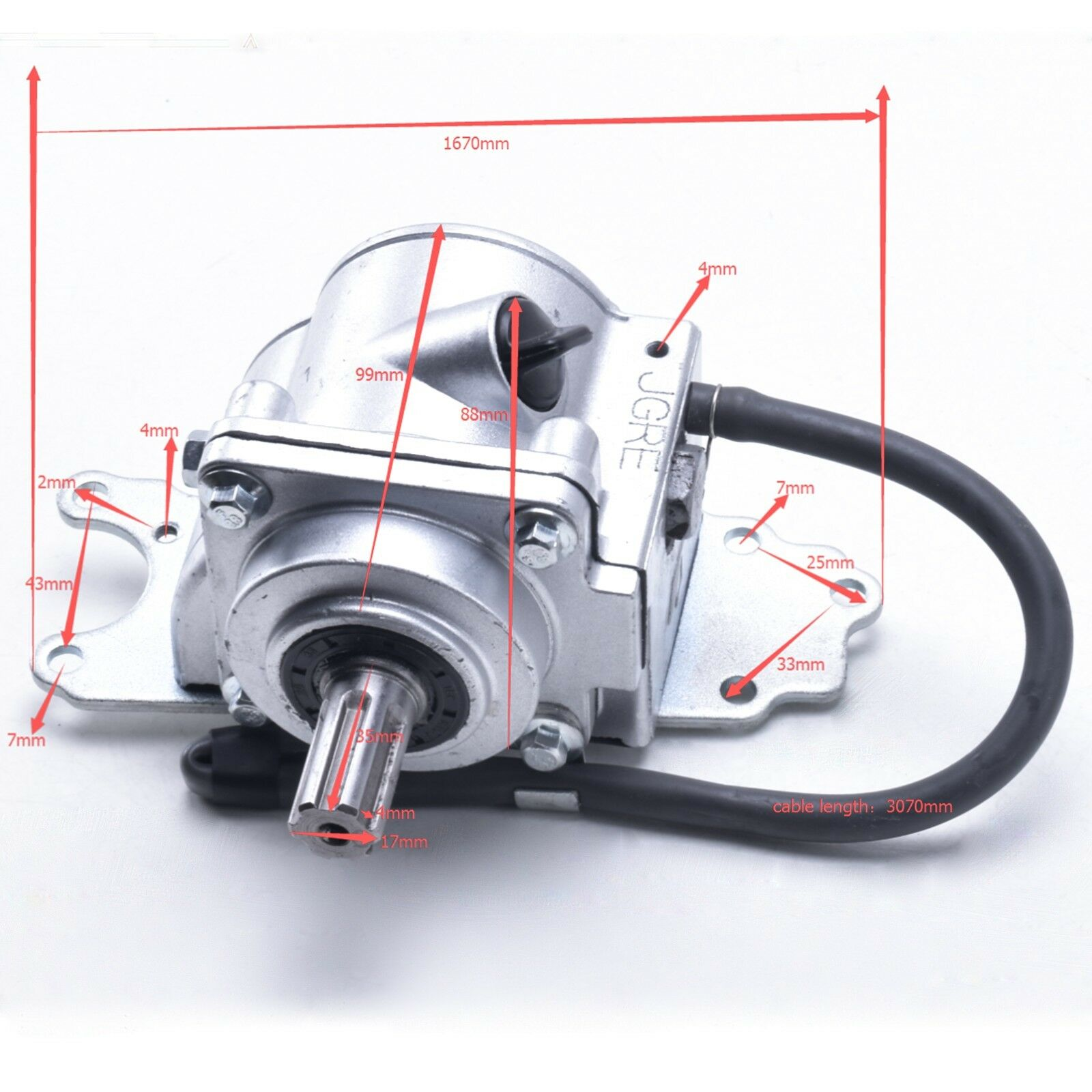Atv Buggy Reverse Gear Box Assy Drive By Shaft Drive Reverse Gear Transfer Case For 125cc 150cc 200cc 250cc Back To Search Resultsautomobiles & Motorcycles
