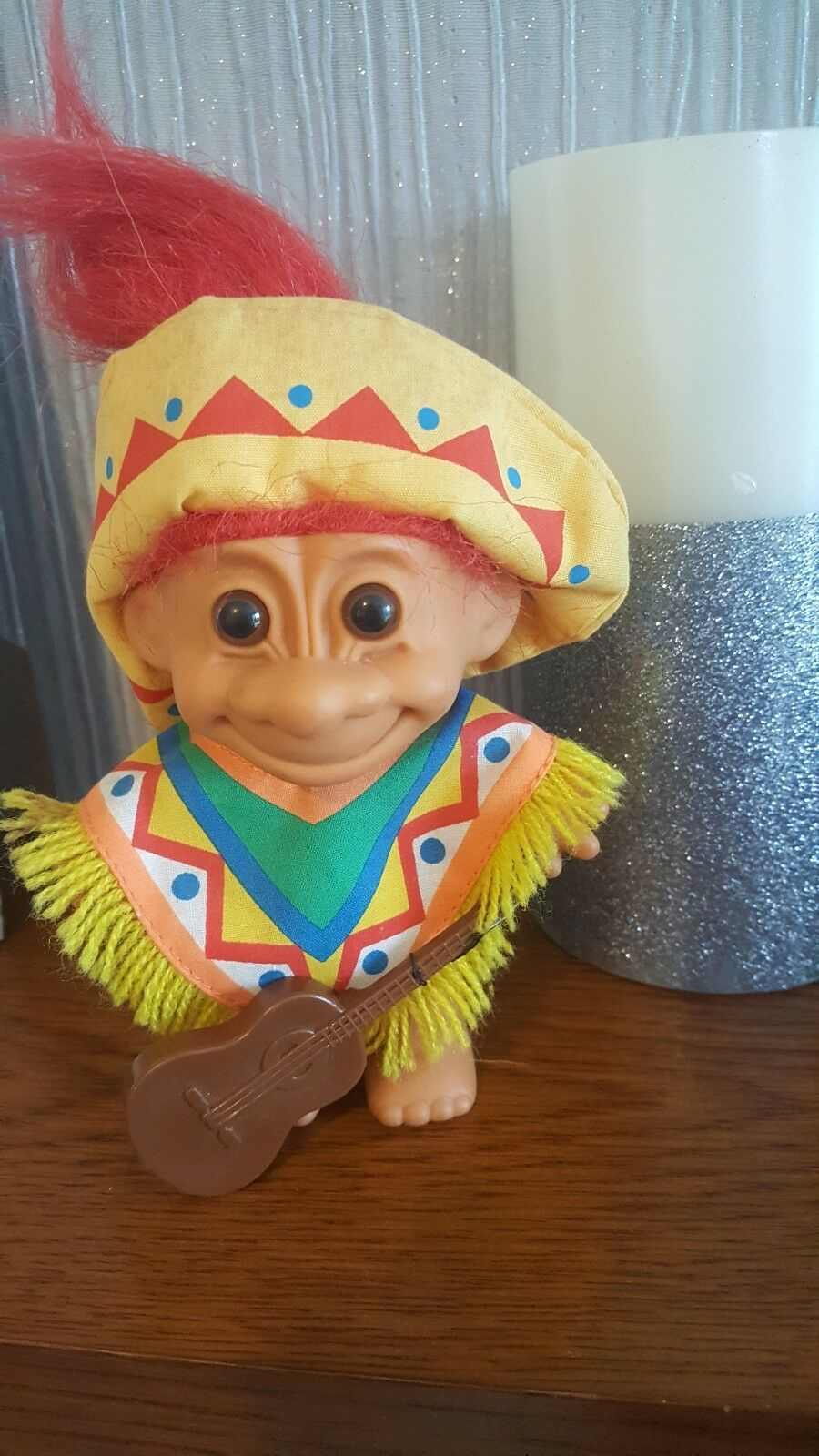 vintage mexican russ troll doll with guitar 5 99 picclick uk