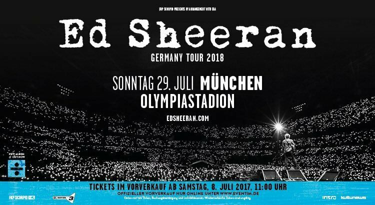Ed Sheeran Tickets Usa Tour
