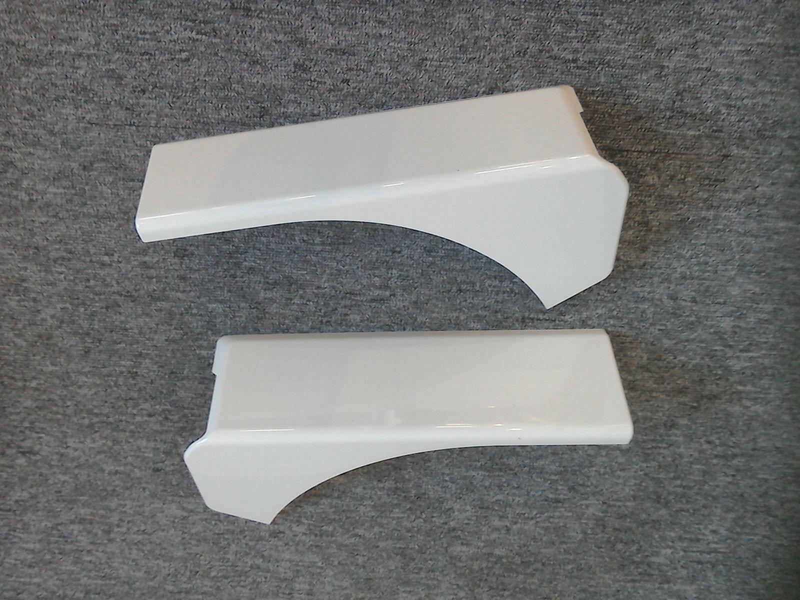 Swift Sterling Elddis Compass Caravan White Top Corner Covers Rear Fuse Box 1 Of 6free Shipping