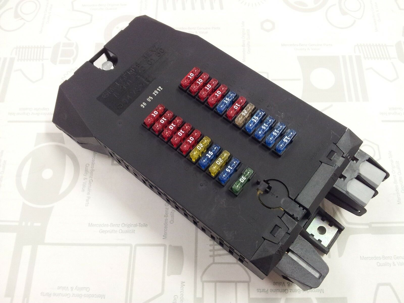 Mercedes W901 W905 Sprinter Fuse Box Assembly 9180 Picclick Uk 1 Of 1only 4 Available See More