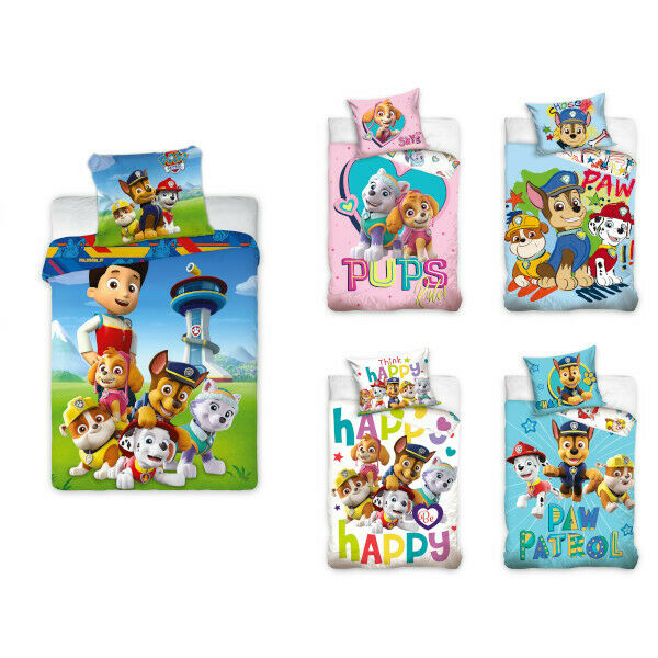 paw patrol kinderbettw sche babybettw sche kinder bettw sche 100x135 cm eur 19 99 picclick de. Black Bedroom Furniture Sets. Home Design Ideas
