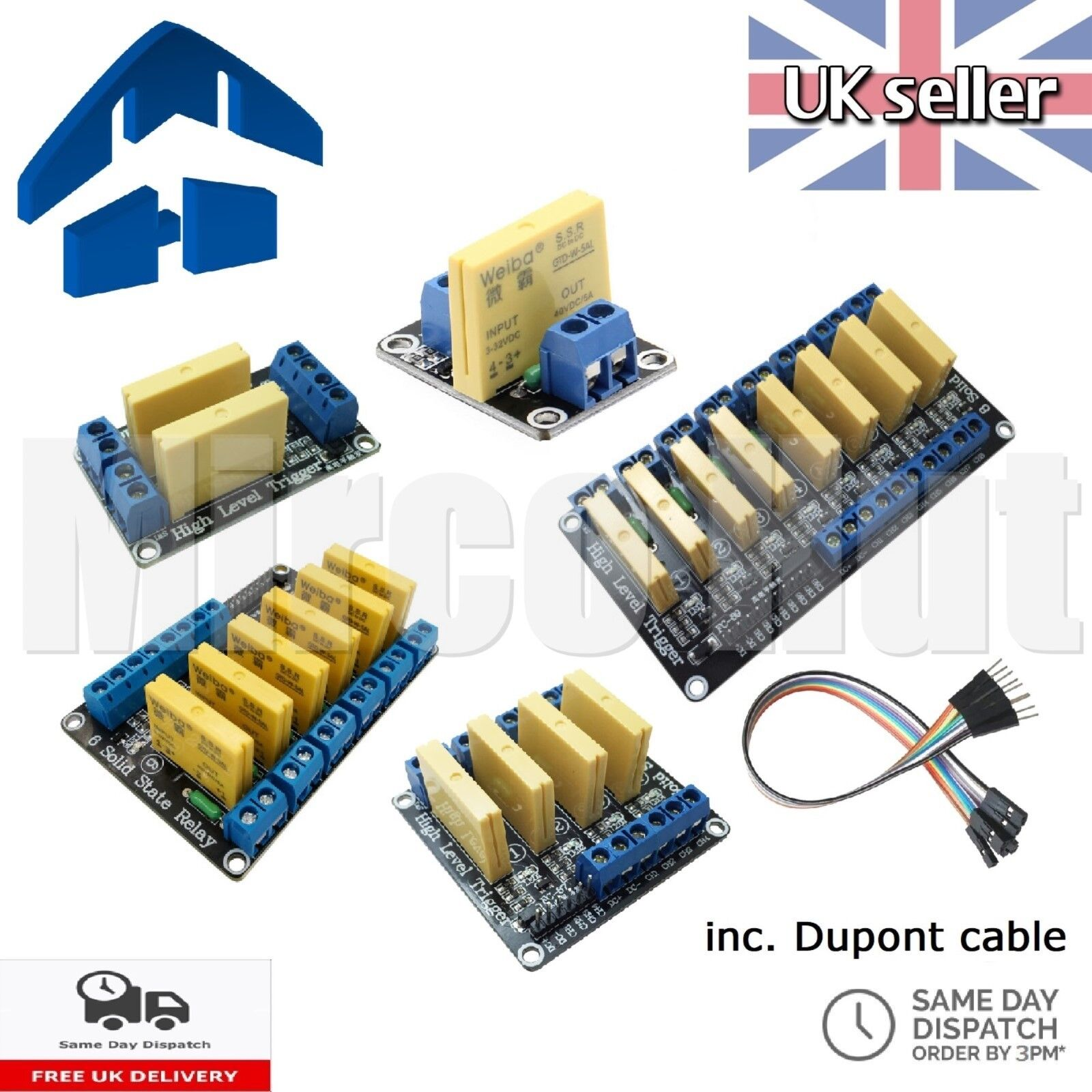 3 32v 5a Dc To Ssr Solid State Relay Module Board Arduino Circuit Raspberry