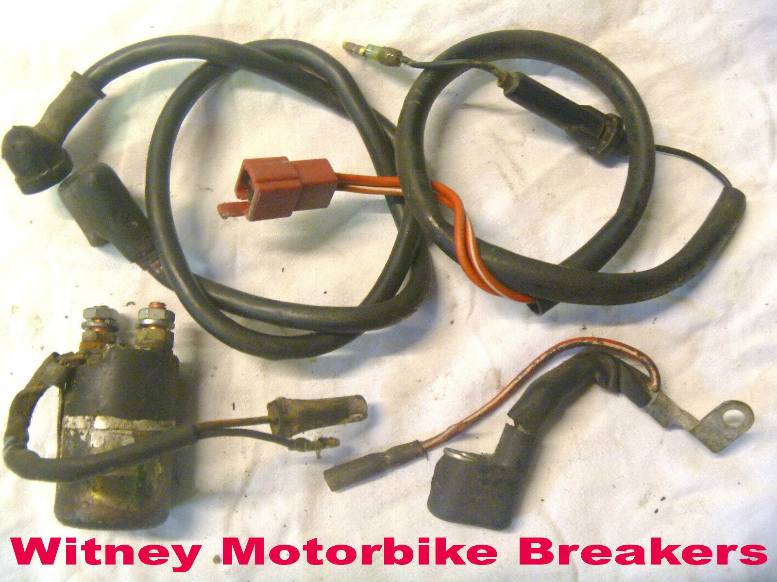 Honda Starter Solenoid Relay Wires Cables Cbx550 Cbx550f Cbx 550 F 82 Wiring 500 1 Of 4only Available