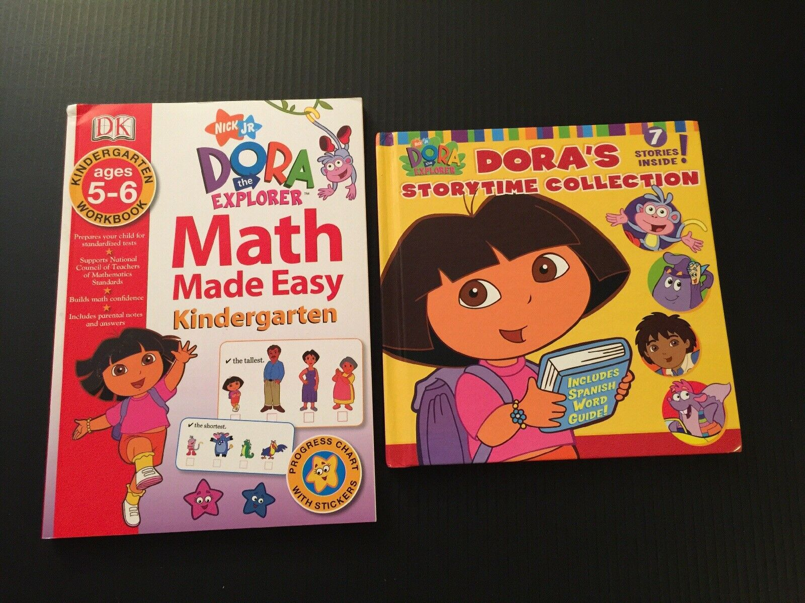 Nickelodeons DORA The EXPLORER Storytime Collection And Workbook Kindergarten 1 Of 4Only Available