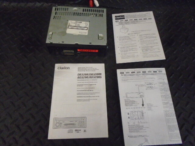 clarion radio cd player db328r with manual no panel facia 20 00 rh picclick co uk clarion db328r wiring diagram
