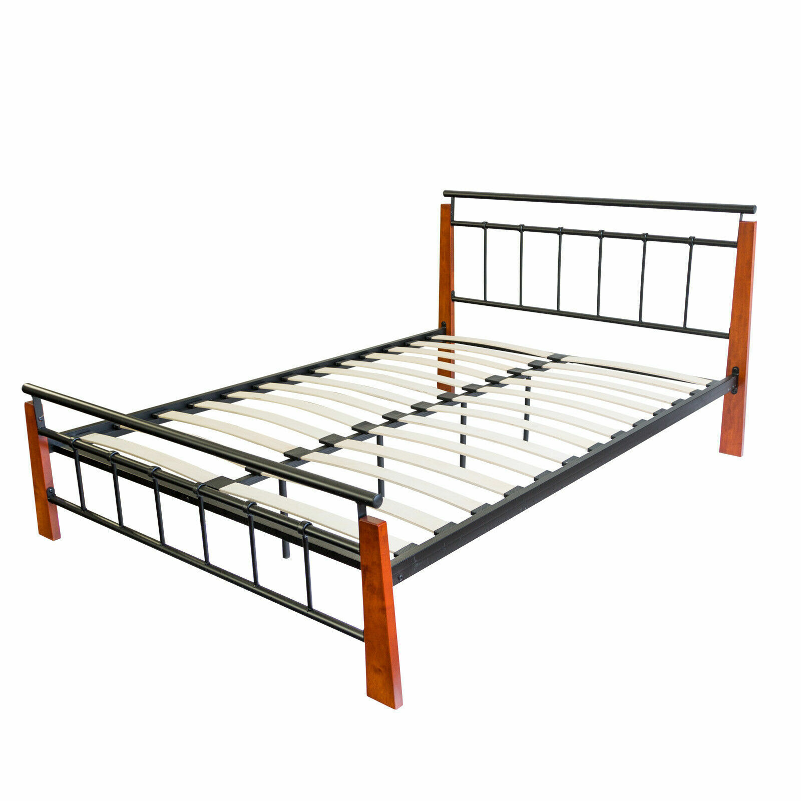 metallbett bett bettgestell doppelbett bettrahmen. Black Bedroom Furniture Sets. Home Design Ideas