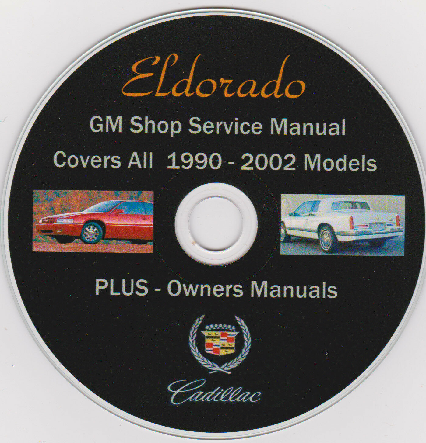 Cadillac ELDORADO-1990 -2002 Original GM SHOP REPAIR MANUAL,PLUS Owners  Manuals 1 of 2Only 4 available See More