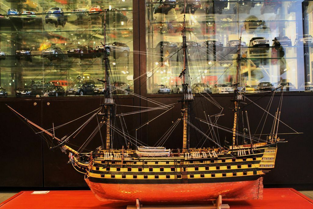 """H.M.S VICTORY 1805 54.5"""" Scale 1/72 1385mm Wood Model Ship ..."""