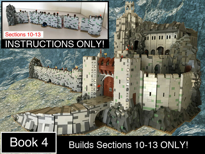 Custom Lord Of The Rings Helms Deep Book 4 Ult Build Lego