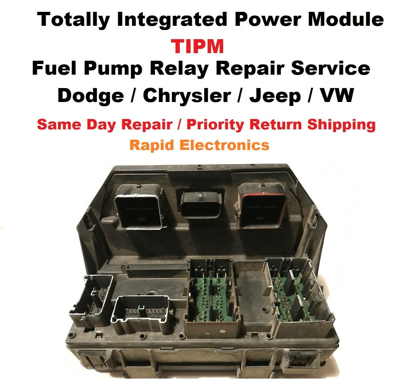 Dodge Ram 1500 2500 3500 2011 2013 Tipm Fuse Box Fuel Pump Relay Rav4 1 Of 1only 4 Available