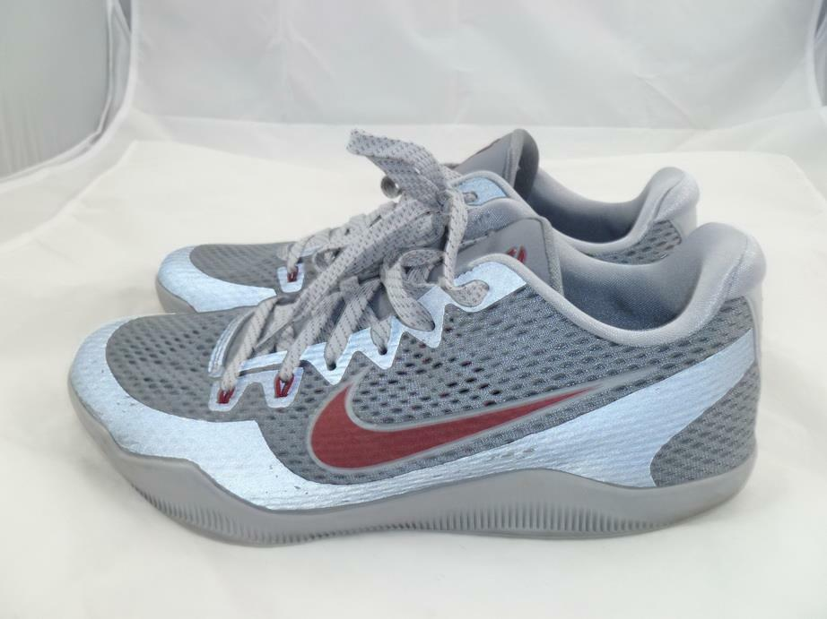 14dad602d4fb Nike Kobe Xi Used 11 Lower Marion Aces Grey Team Red Bryant Sneakers 836183-006  1 of 8Only 1 available ...
