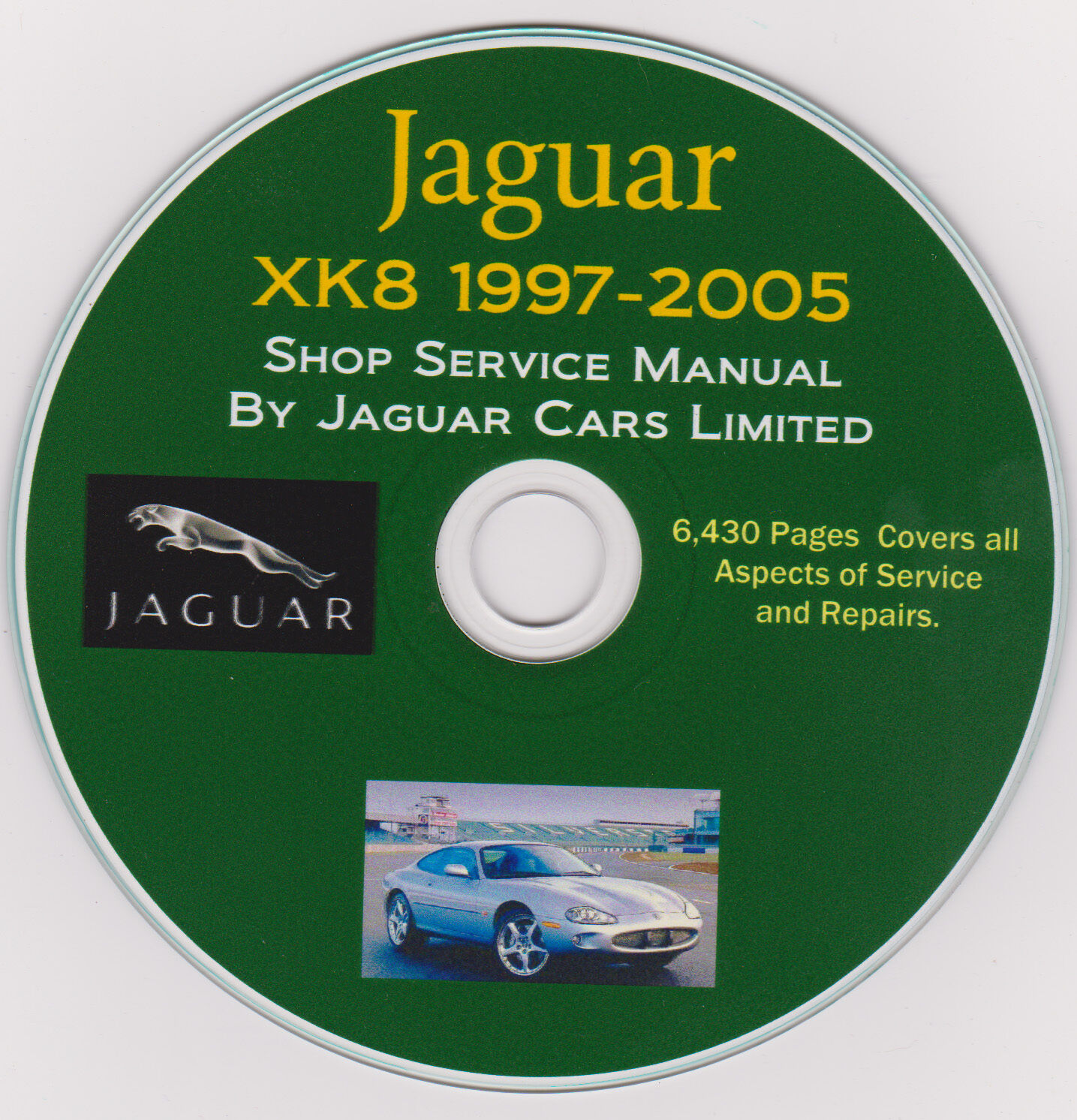 Jaguar XK8 1997 -2005 FACTORY SERVICE REPAIR SHOP & MAINTENANCE MANUAL +  Parts ! 1 of 1FREE Shipping See More