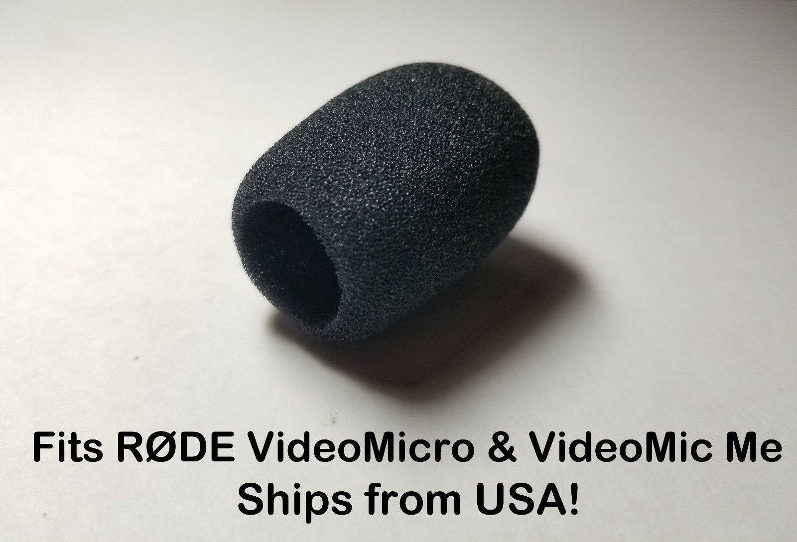 Foam Windscreen Muff Shield For Rode Videomicro Videomicme Usa Mic Video Micro Seller 1 Of 10free Shipping See More