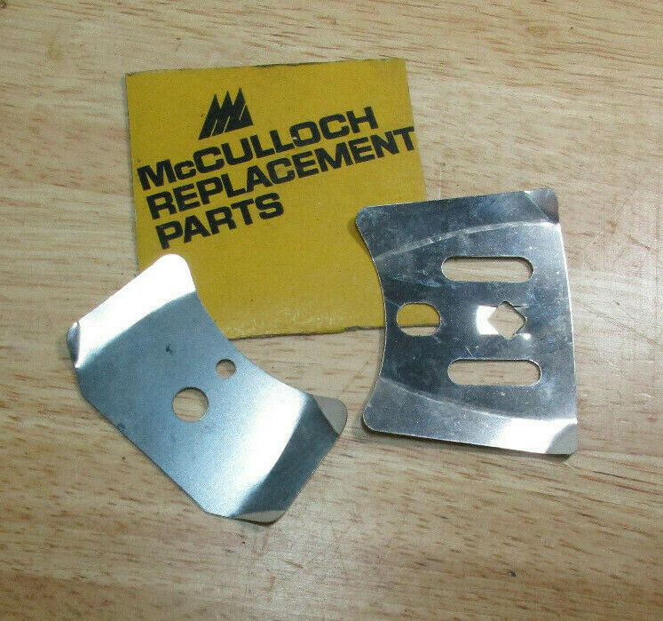 McCulloch Power Mac 6 PM 6, 6a Chainsaw Bar Plate Shims 1 of 1Only 2  available ...