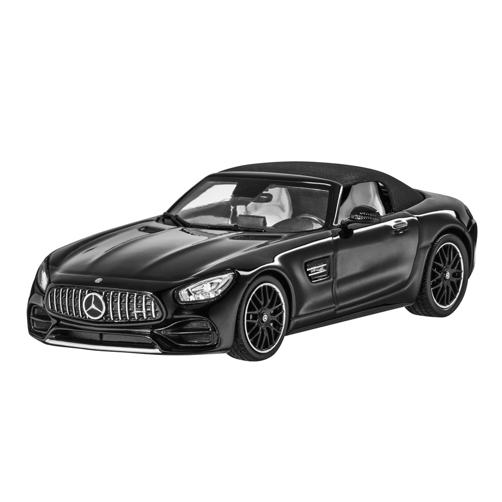 mercedes benz c 190 amg gt roadster 2018 schwarz 1 43. Black Bedroom Furniture Sets. Home Design Ideas