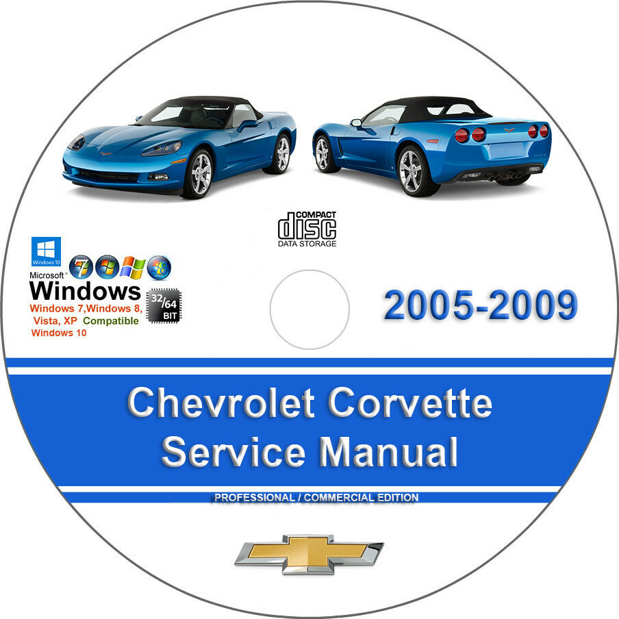 Chevrolet Corvette 2005 2006 2007 2008 2009 Factory Service Repair Manual 1  of 1FREE Shipping See More