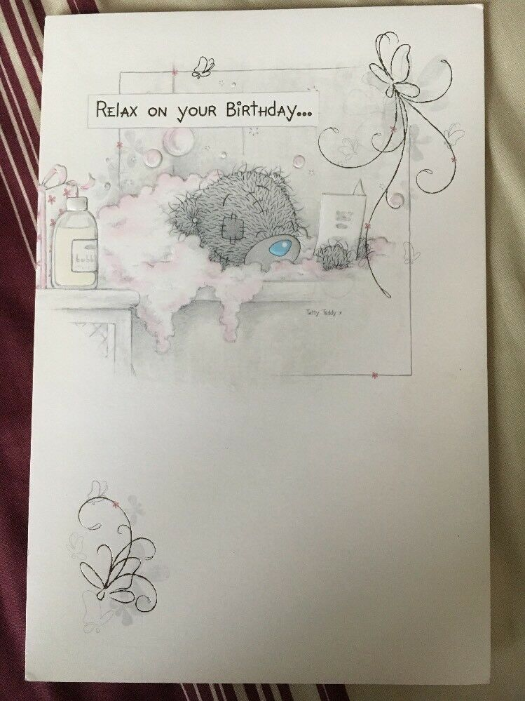 Clintons Me To You Bear Birthday Card 4 00 Picclick Uk