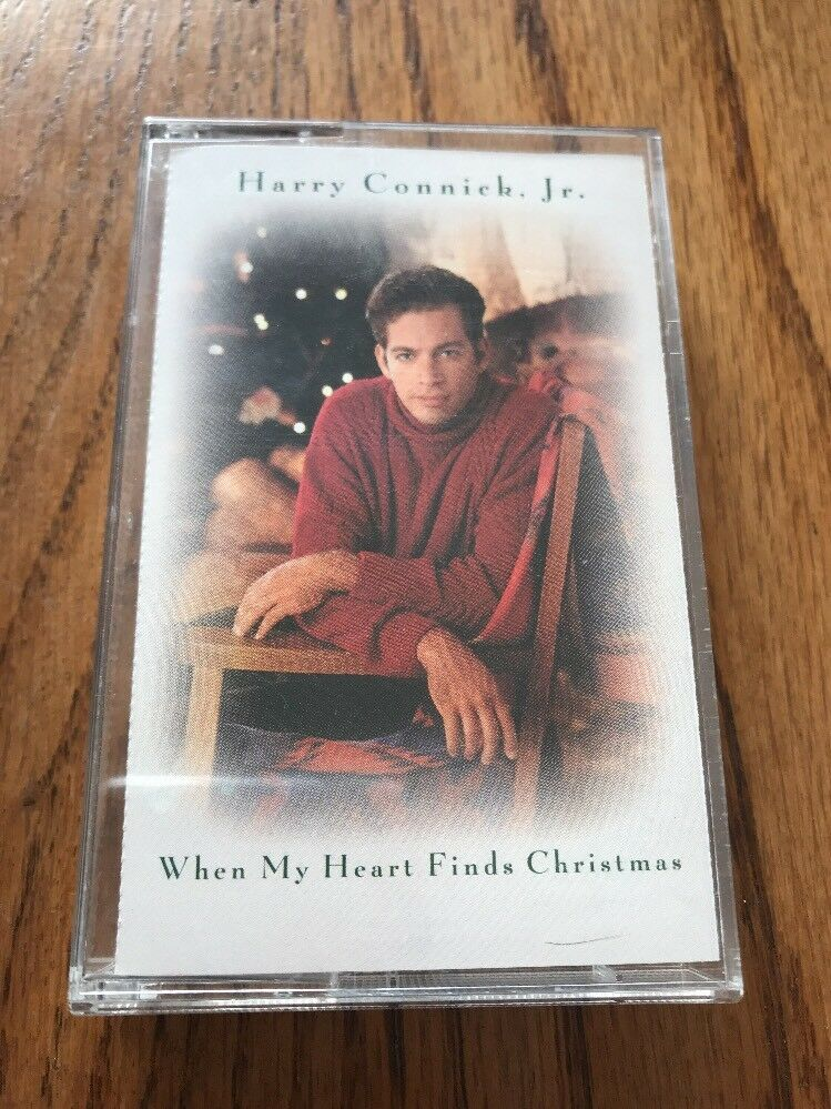 harry connick jr when my heart finds christmas cassette ships n 24h 1 of 5only 1 available - Harry Connick Jr When My Heart Finds Christmas