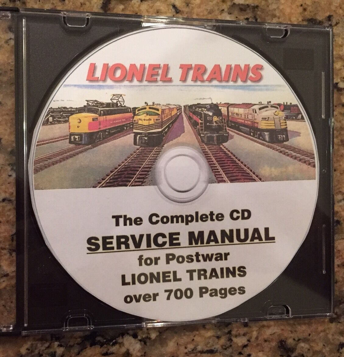 Lionel Complete Service Manual Postwar Trains Cd Pdf Disk 2020 681 Wiring Diagrams 1 Of 11 See More