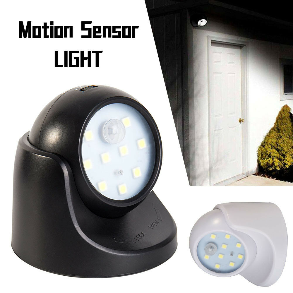360 battery operated indoor outdoor night motion sensor security led light picclick uk. Black Bedroom Furniture Sets. Home Design Ideas