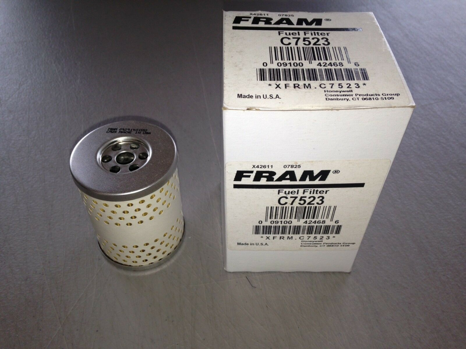 Fram C7523 Fuel Filter Fits Cat 5m7650 9m2341 9m2342 Motorcraft Fd69 Ml320 Replacement 1 Of See More