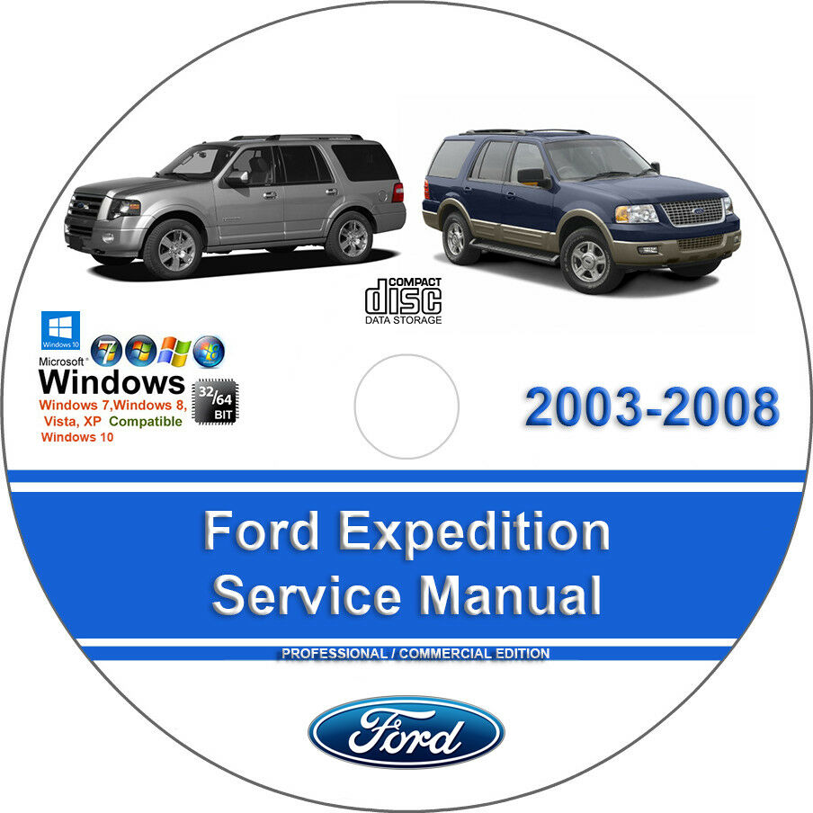 Ford Expedition 2003 2004 2005 2006 2007 2008 Factory Service Repair Manual  1 of 1Only 1 available ...