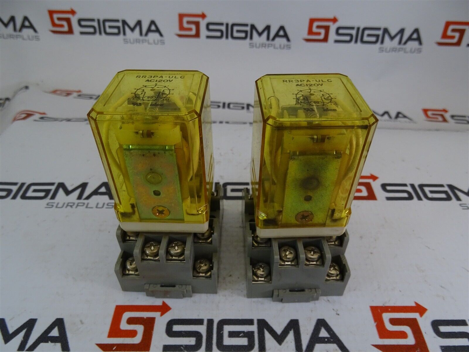 Idec Rr3pa Ulc Relay 120vac W Sr3p 05 Base Socket Lot Of 2 Wiring 1 7only Available
