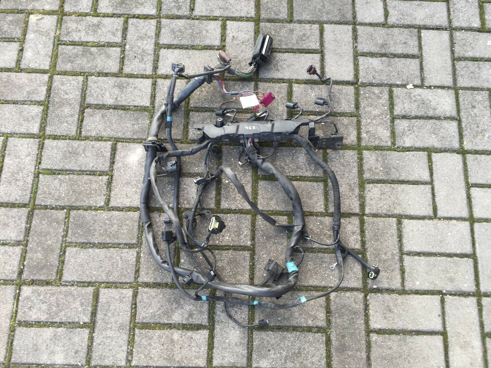2006 Mercedes C Class W203 C220 Cdi 22 Diesel Om646 Engine Wiring Harness Loom 1 Of 6 See More