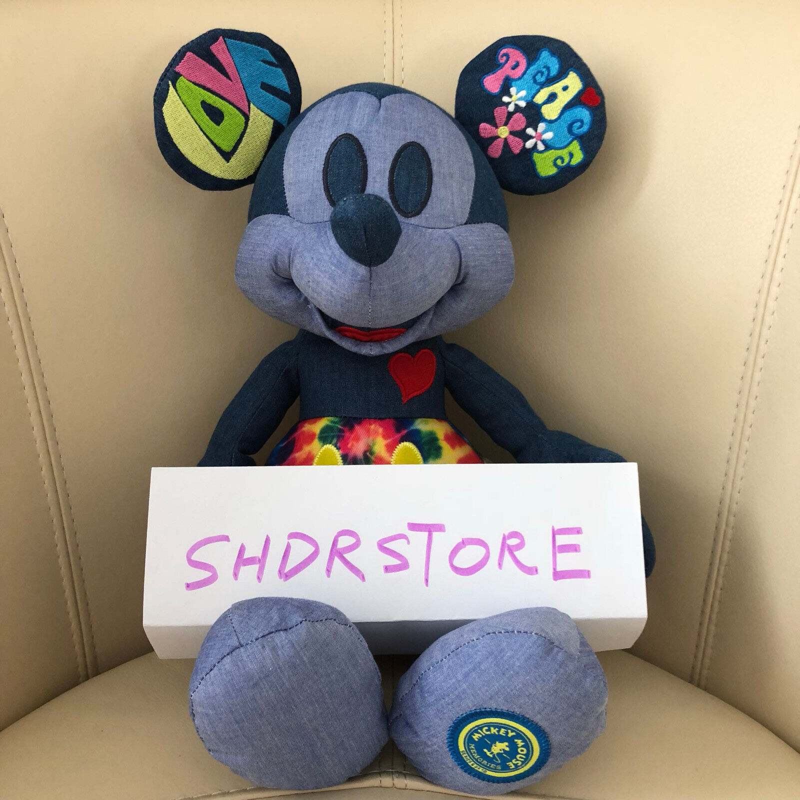 Nwt mickey mouse memories june plush disney store authentic limited edition picclick ca - Disney store mickey mouse ...