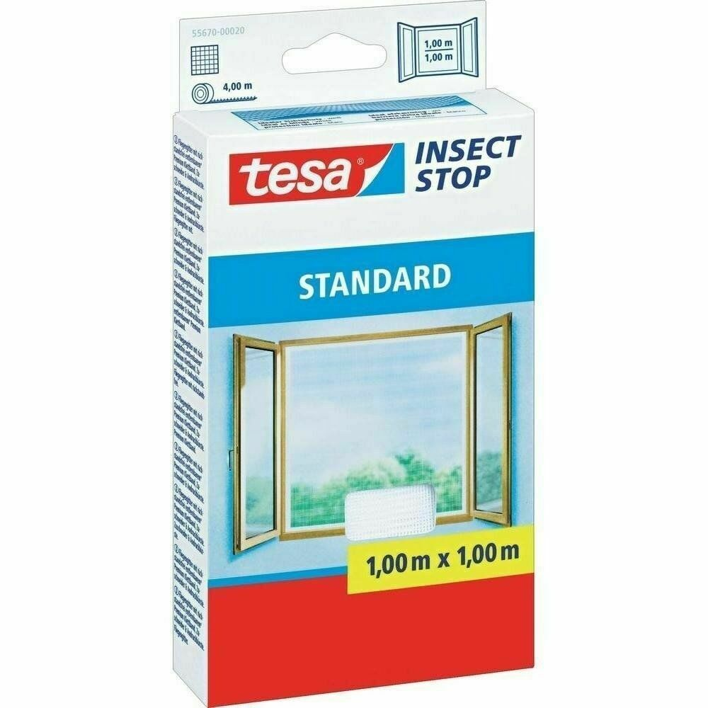tesa insect stop fliegengitter 55670 standard f r fenster insektenschutz eur 4 86 picclick it. Black Bedroom Furniture Sets. Home Design Ideas