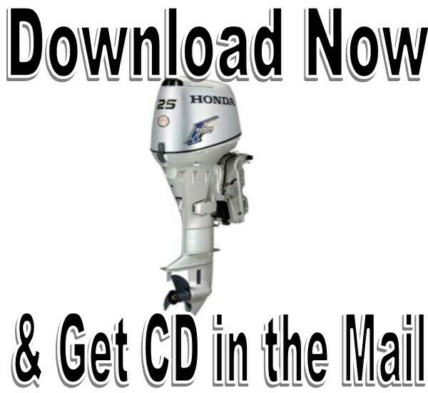 Honda Marine 20HP. 25HP, 30HP Service Repair Manual, BF25D BF30D Outboard 1  of 7Only 3 available ...