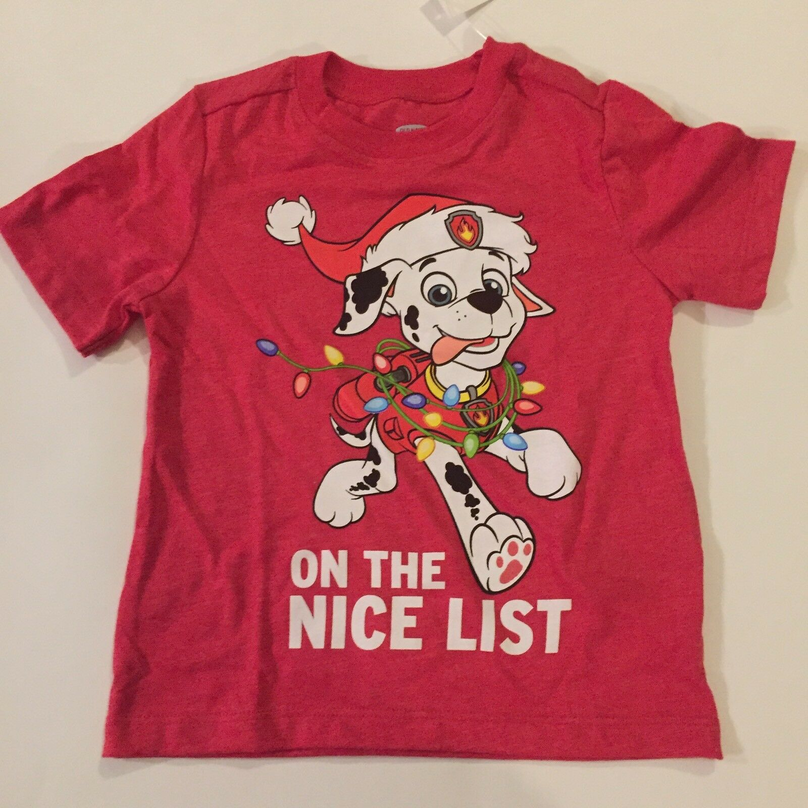 OLD NAVY TODDLER Boys 2T Paw Patrol On The Nice List Christmas Tee ...