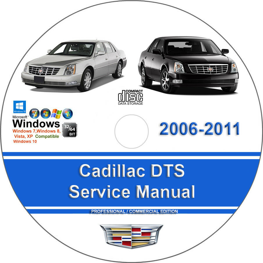 Cadillac DTS 2006 2007 2008 2009 2010 2011 Factory Service Repair Manual 1  of 1FREE Shipping See More