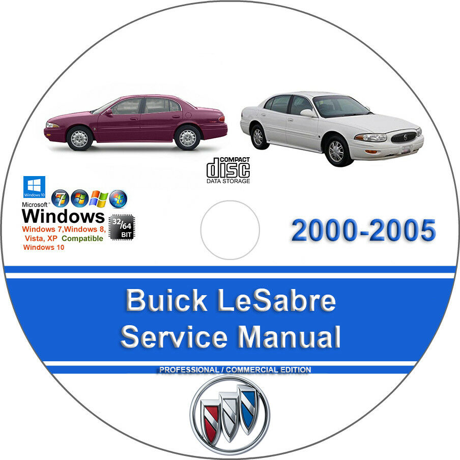 Buick LeSabre 2000 2001 2002 2003 2004 2005 Factory Workshop Service Manual  1 of 1Only 1 available See More