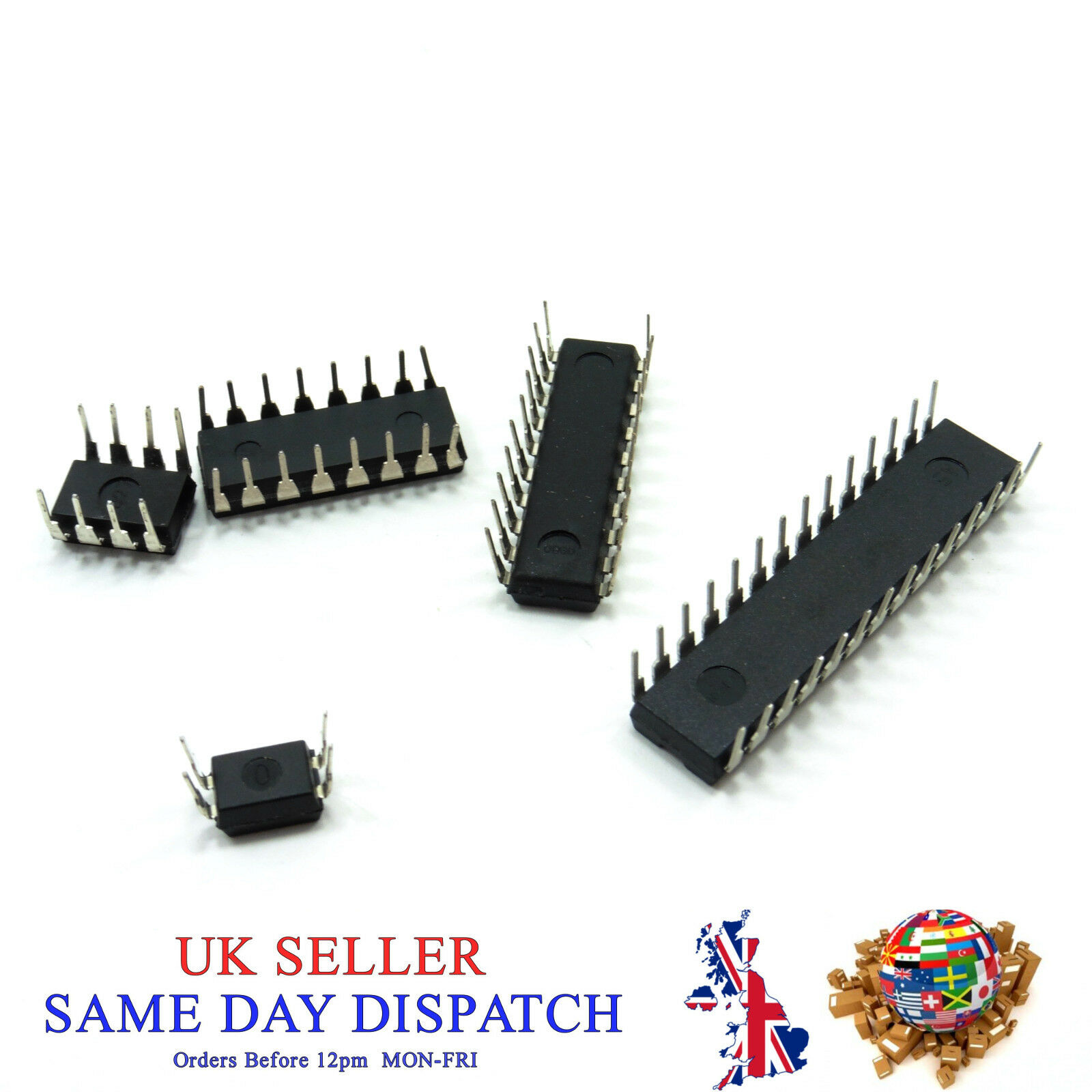 Ic Chips 4 8 14 16 20 Pin 2 Wire Serial Dip Integrated Circuits Different 1 Of 1free Shipping See More