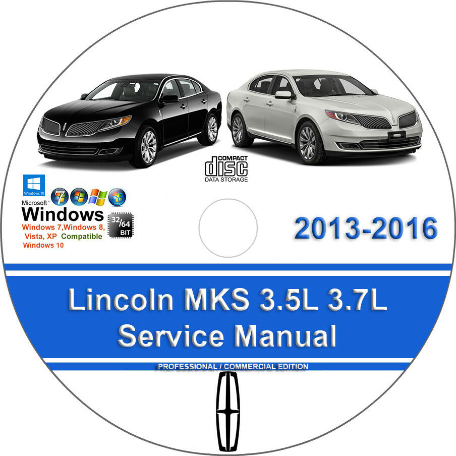 Lincoln MKS 2013 2014 2015 2016 3.5L 3.7L Factory Workshop Service Repair  Manual 1 of 1FREE Shipping See More