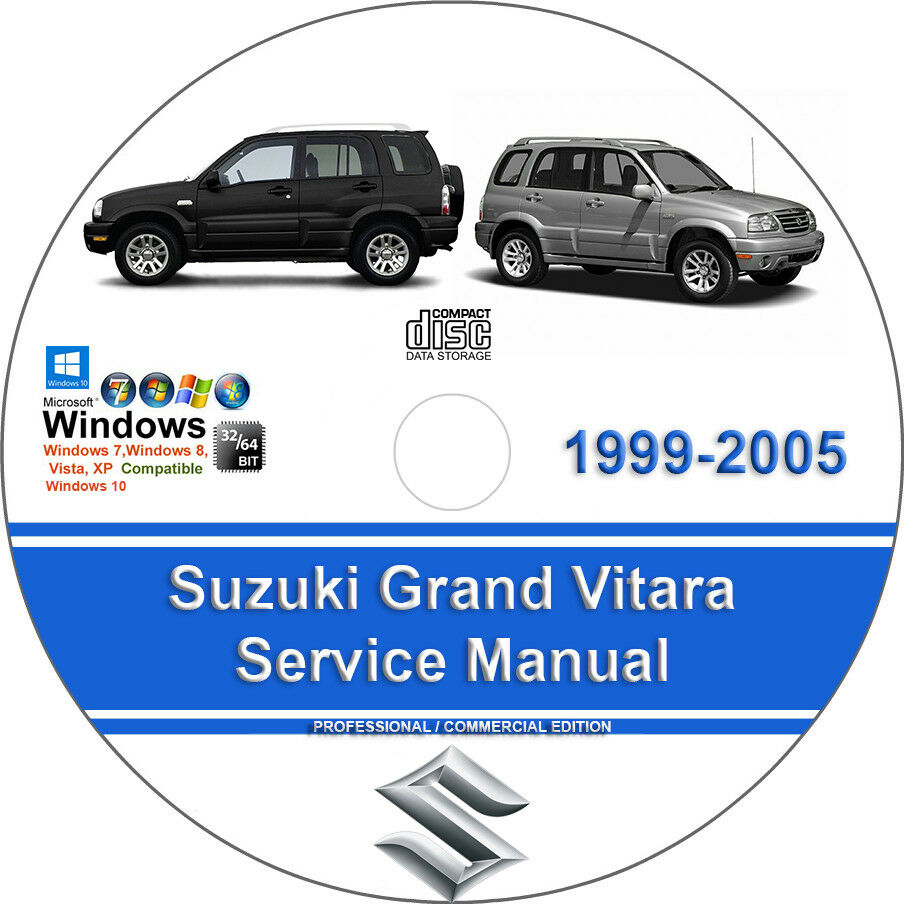 Suzuki Grand Vitara 1999 2000 2001 2002 2003 2004 2005 Service Repair Manual  1 of 1Only 1 available ...