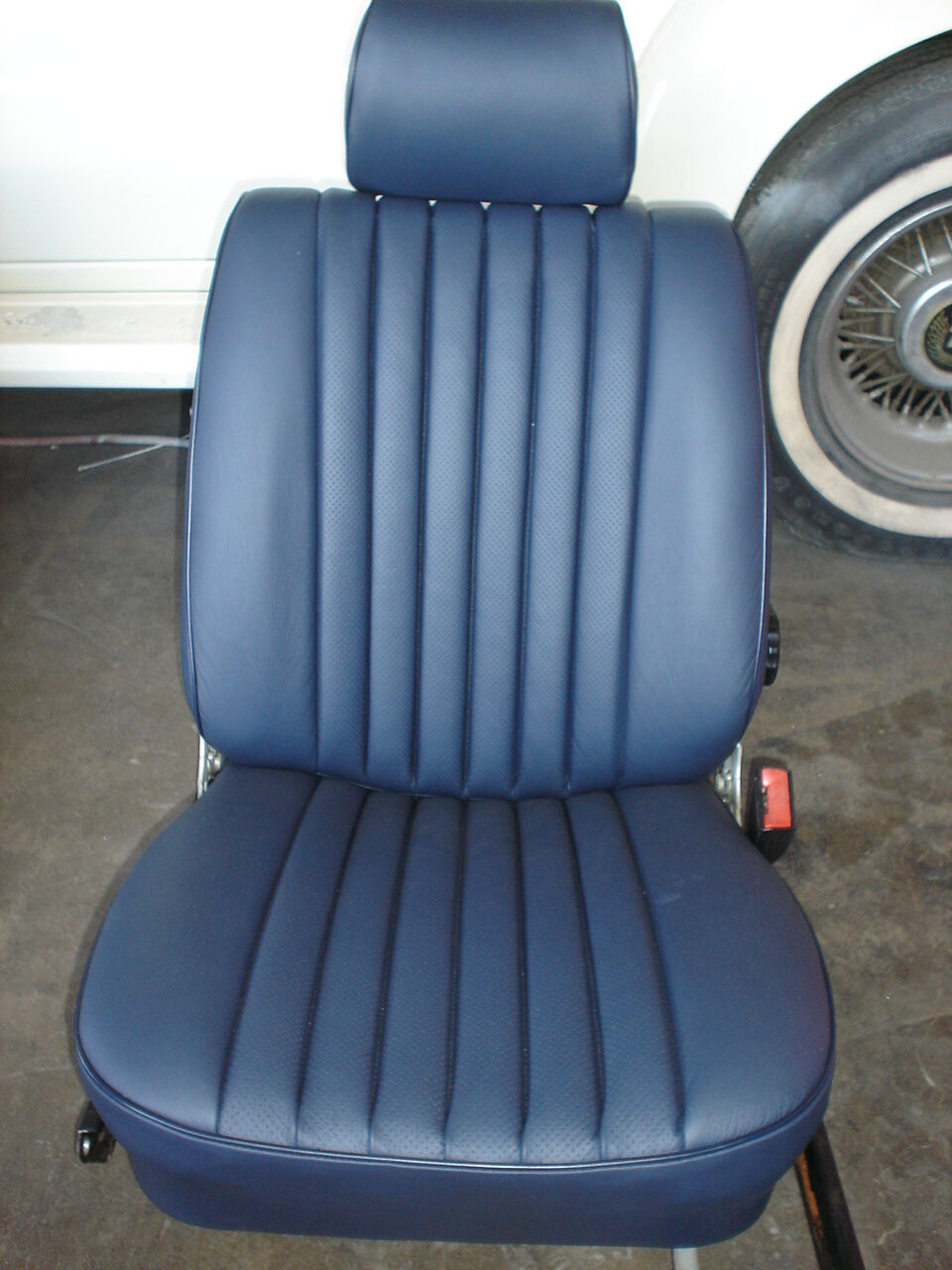 Mercedes seat covers 350sl 450sl 380sl 560sl leather for Mercedes benz original seat covers