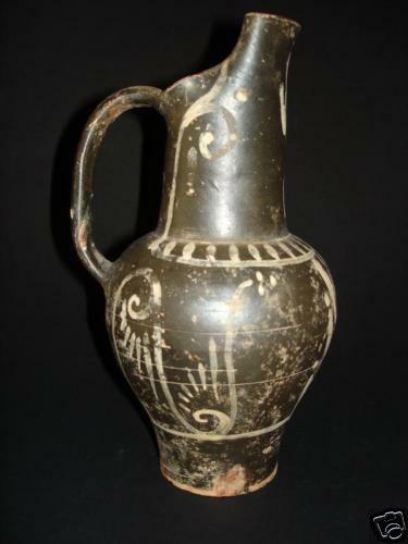 Ancient Etruscan Beaked Oinochoe ,Classical Antiquities