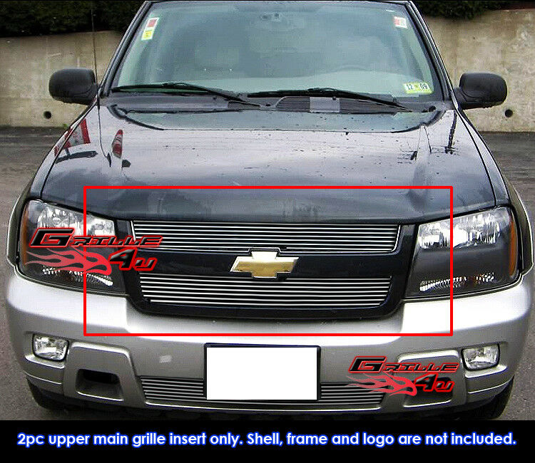 Fits chevy trailblazer lt billet grille insert 06 09 4100 picclick fits chevy trailblazer lt billet grille insert 06 09 1 of 2 see more publicscrutiny Choice Image