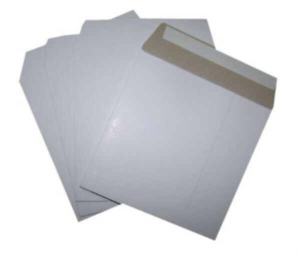 10x Record Vinyl Mailers 12 Quot 340x340mm Self Seal Stiff