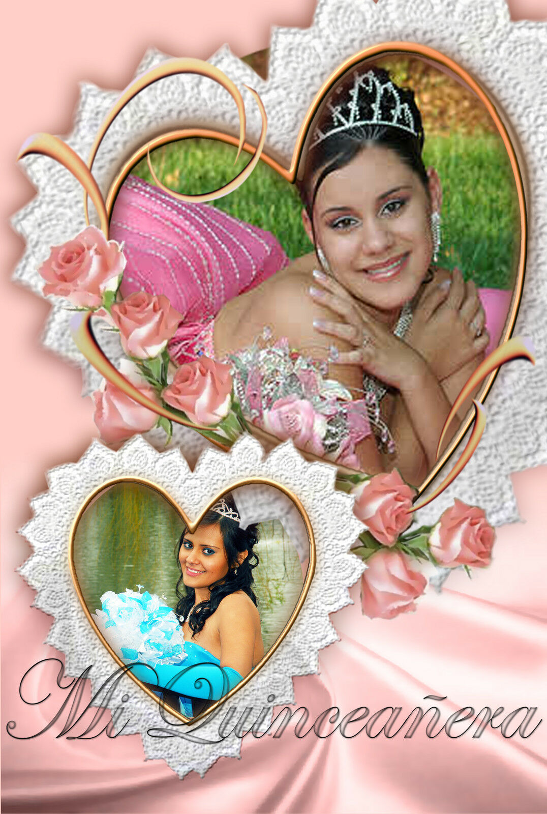 200 Photoshop Templates for Quinceañera-Quinceanera PSD Vol. 3